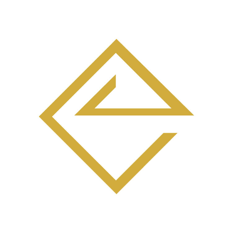 Aesthesis Earrings – gold, enamel