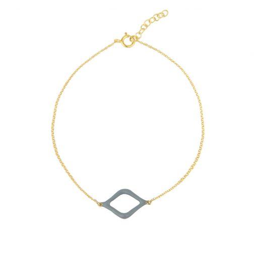 Aesthesis Bracelet – gold, enamel