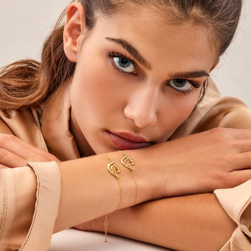 Euphoria Bracelet - gold, sapphire