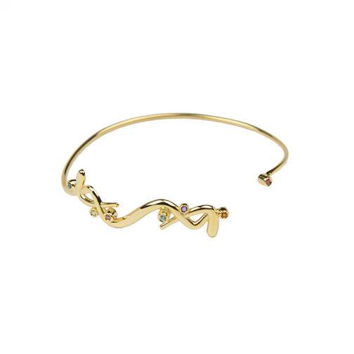 Euphoria Bracelet - gold, semi-precious stones