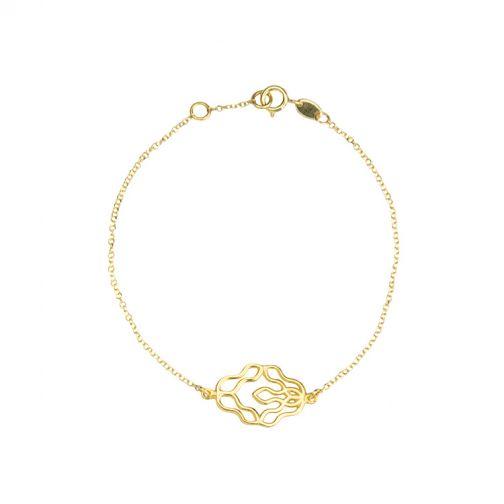 Χρυσό Βραχιόλι Rhea
