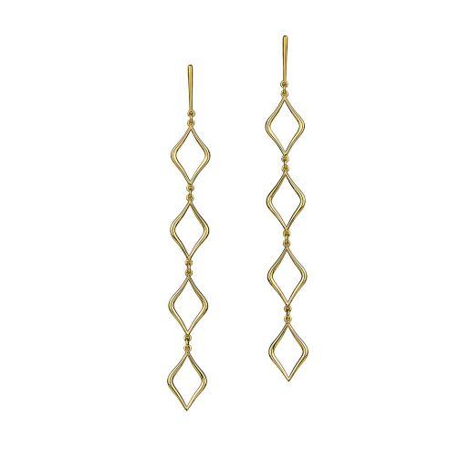 Aesthesis Earrings – gold