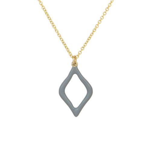 Aesthesis Pendant – gold, enamel