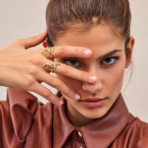 Euphoria Ring - gold, sapphire