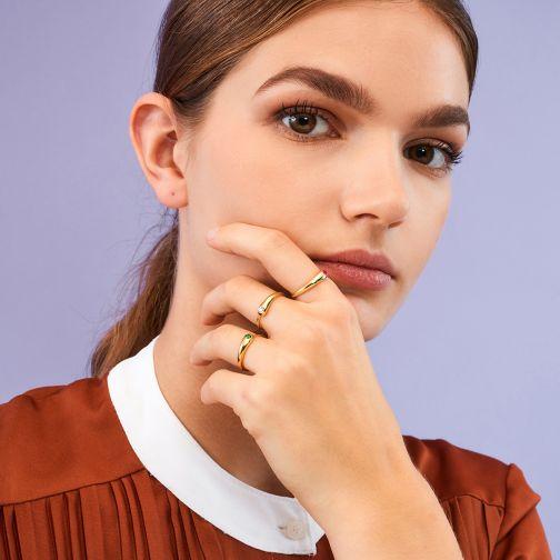 Ασημένιο Δαχτυλίδι Nostalgia - ζιργκόν