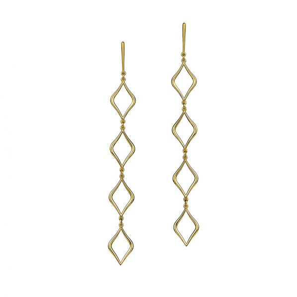 Aesthesis Earrings – gold