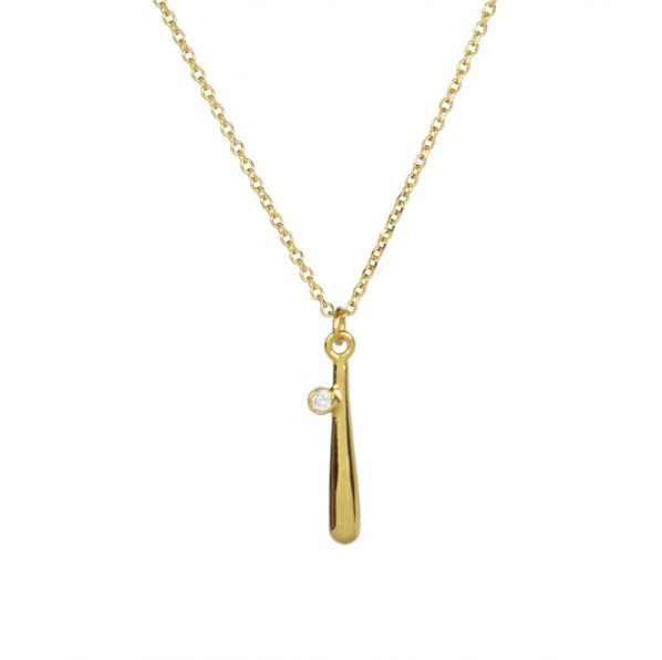 Euphoria Pendant - gold, diamond