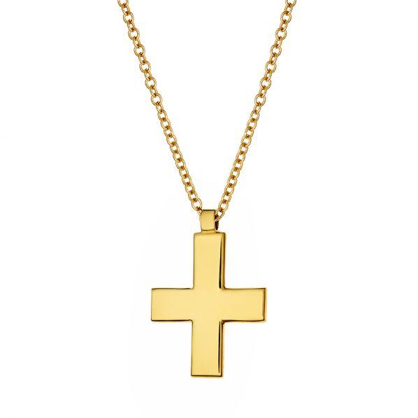 Cross Pendant - gold 14K