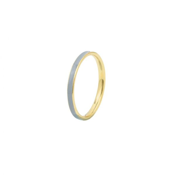 Aesthesis Ring - gold, enamel