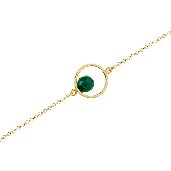 Harmony Bracelet - silver, agate