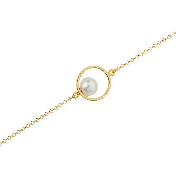 Harmony Bracelet - silver, pearl
