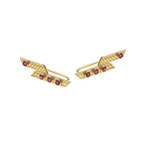 Nostalgia Earrings - silver, zircon